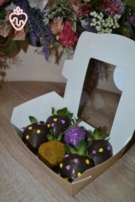 იასამნისფერი & ოქროსფერი (6ც) | Purple & Golden (6pcs)