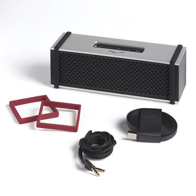 V-Moda REMIX Silver Bluetooth Speaker