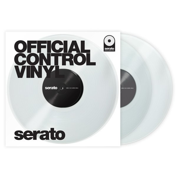 "Serato 12"" Control Vinyl Performance Series (Пара/Прозрачные)"