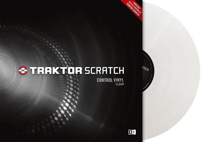 Native Instruments Traktor Scratch Pro Control Vinyl Clear MkII