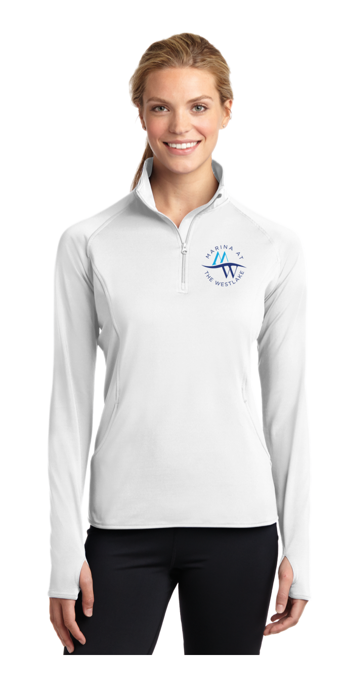 Ladies 1/2 Zip Pullovers