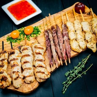 Hot Kabob Platter