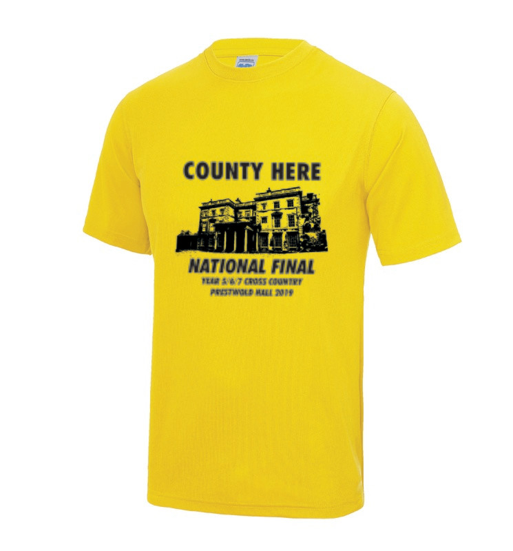 National Schools XC Final T-Shirt