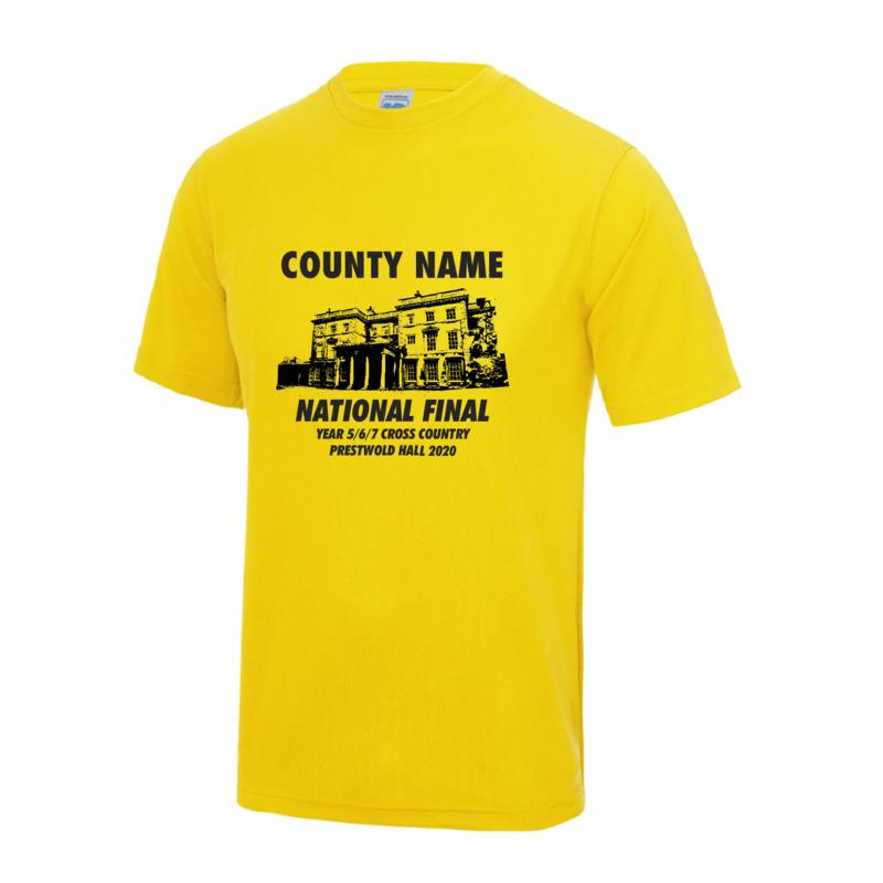 National Schools XC Final T-Shirt
