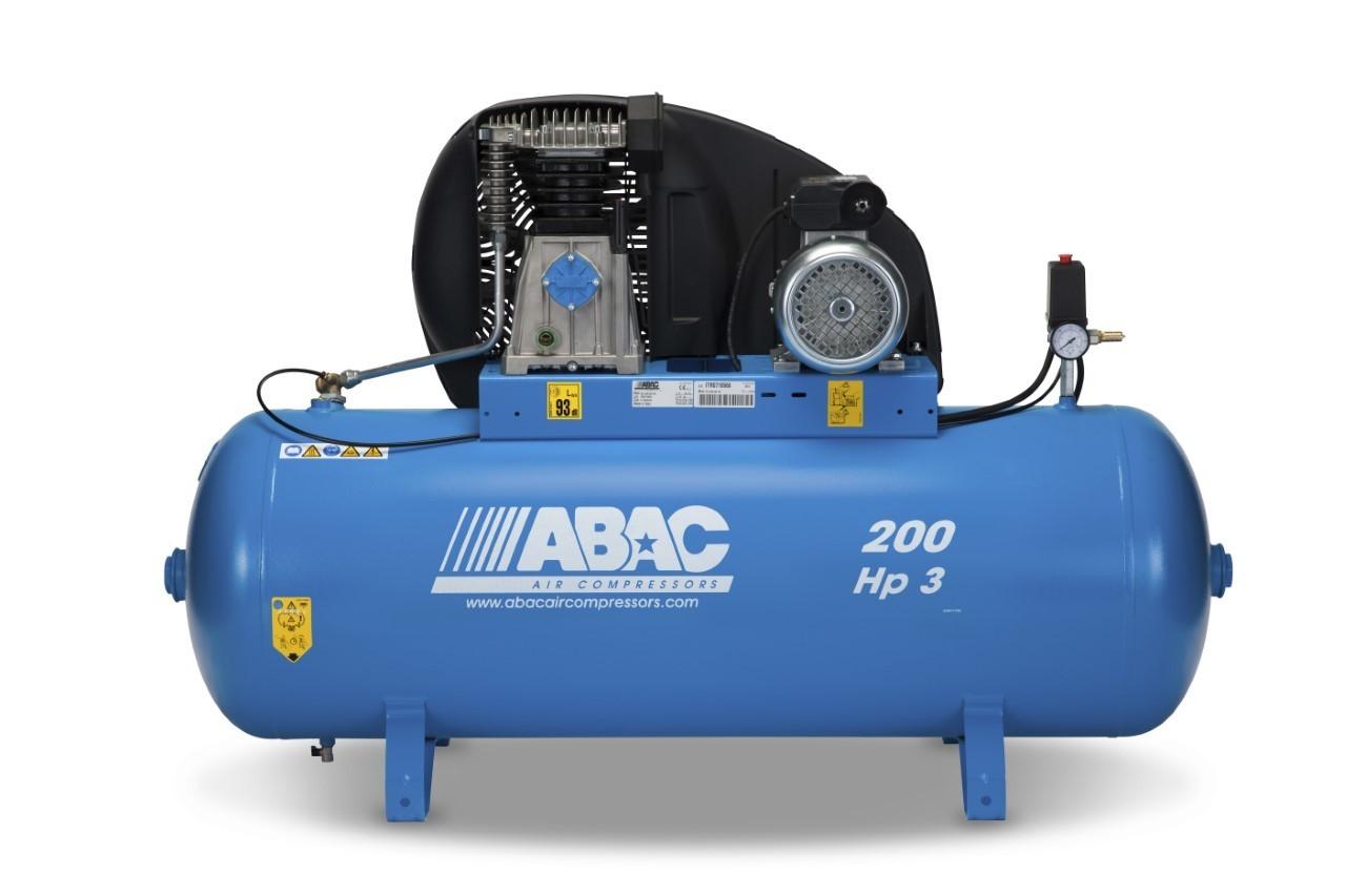Abac PRO A39B 200 FM3      200Litre Tank Stationary compressor
