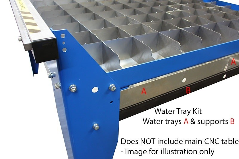4x2 Water Trays