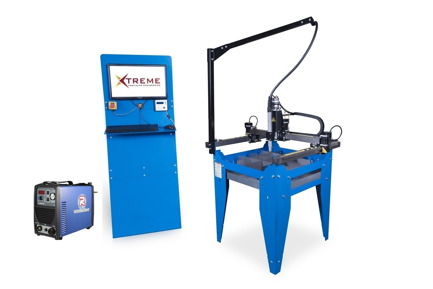 2x2 CNC Complete Plasma Cutting Table Kit & 50 Amp Cutter(240v)(Cut upto 12mm steel)