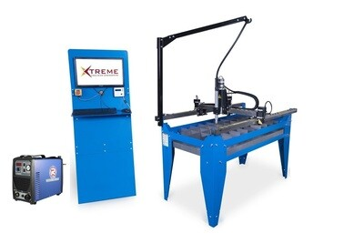 4x2 CNC Complete Plasma Cutting Table & Cutter