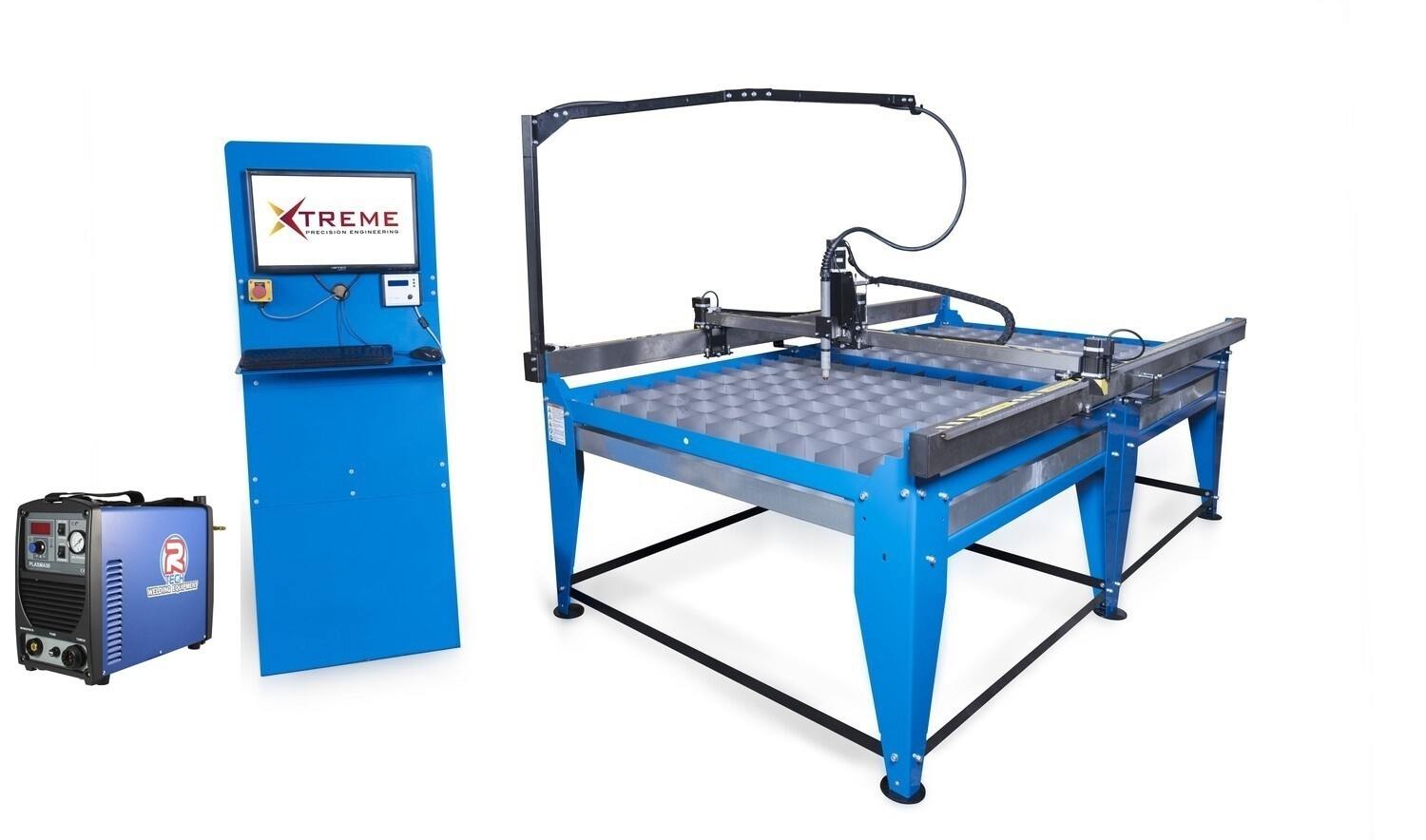 8x4 CNC Complete Plasma Cutting Table & Cutter(taking orders please contact for lead times)