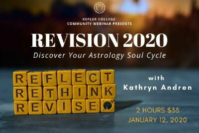 Revision 2020: Discover Your Astrology Soul Cycle with Kathryn Andren