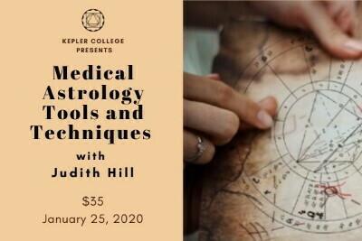 Jan 25: Medical Astrology: Tools & Techniques