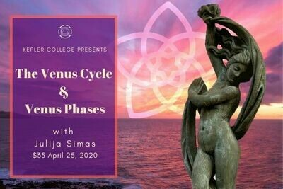 April 25: The Venus Cycle and Phases by Julija Simas ($35) wkjs42520
