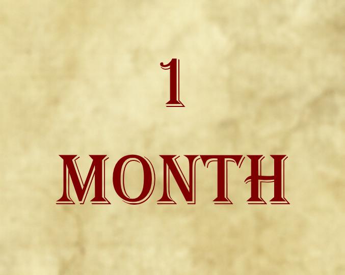 1-Month Membership