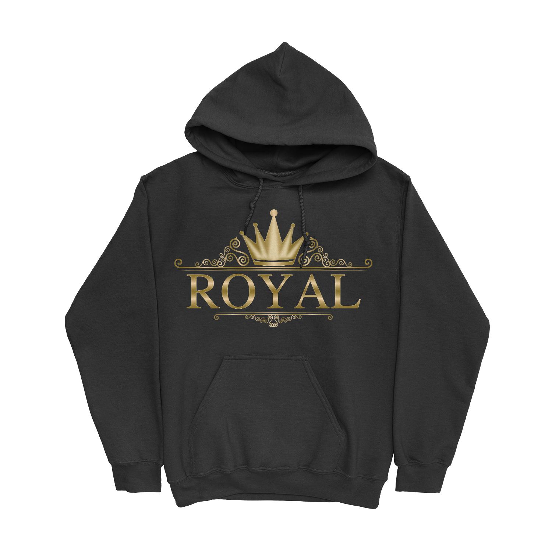 Royal Stencil Hoodie