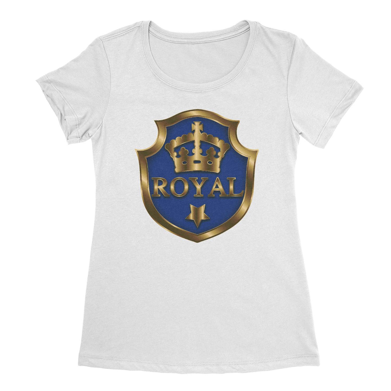 Women's Royal Shield T-shirt