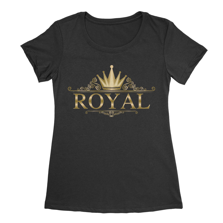 Women's Royal Stencil T-shirt