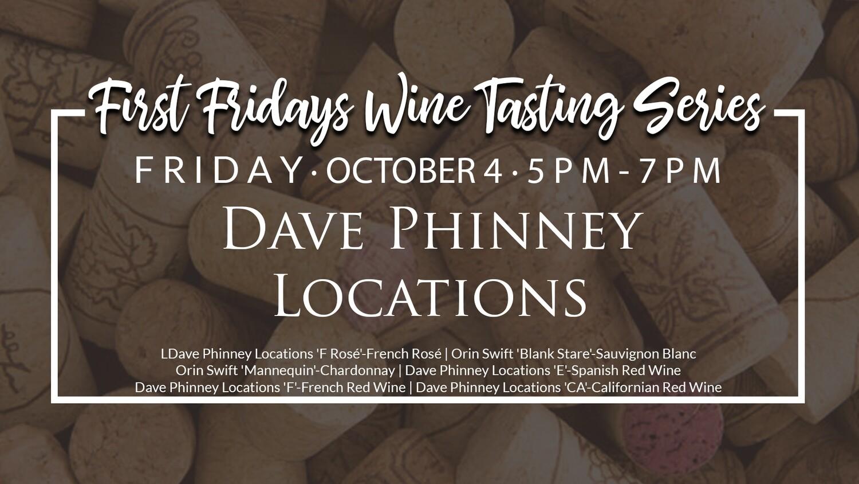 October Wine Tasting Ticket