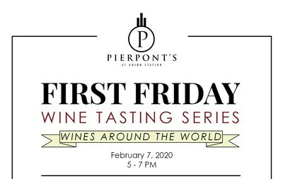February First Friday Wine Tasting Ticket
