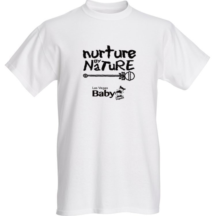 Nurture by Nature T-Shirt (benefits Southern Nevada Breastfeeding Coalition)