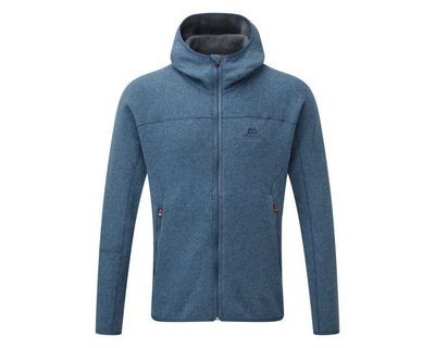 MOUNTAIN EQUIPMENT CHAMONIX HOODED JACKET LARGE DENIM BLUE