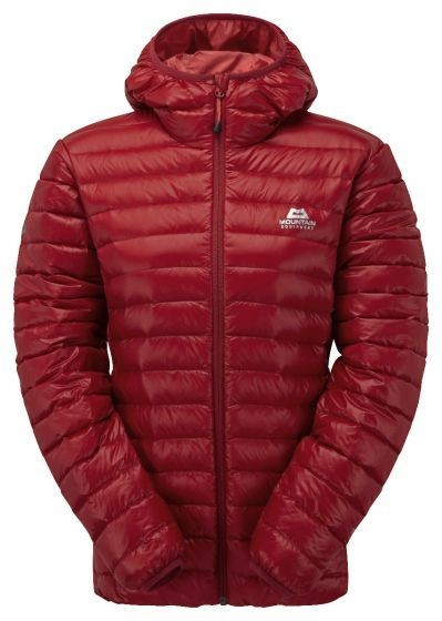 MOUNTAIN EQUIPMENT WOMEN'S ARETE HOODED JACKET SECOND RED 16