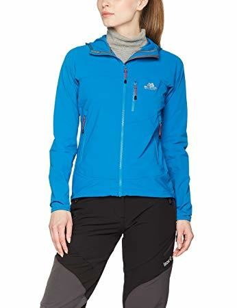 MOUNTAIN EQUIPMENT WOMEN'S ECHO JACKET LAGOON BLUE SIZE 12