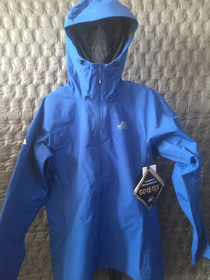 MOUNTAIN EQUIPMENT SHIVLING GORETEX JACKET DARK OCEAN LARGE