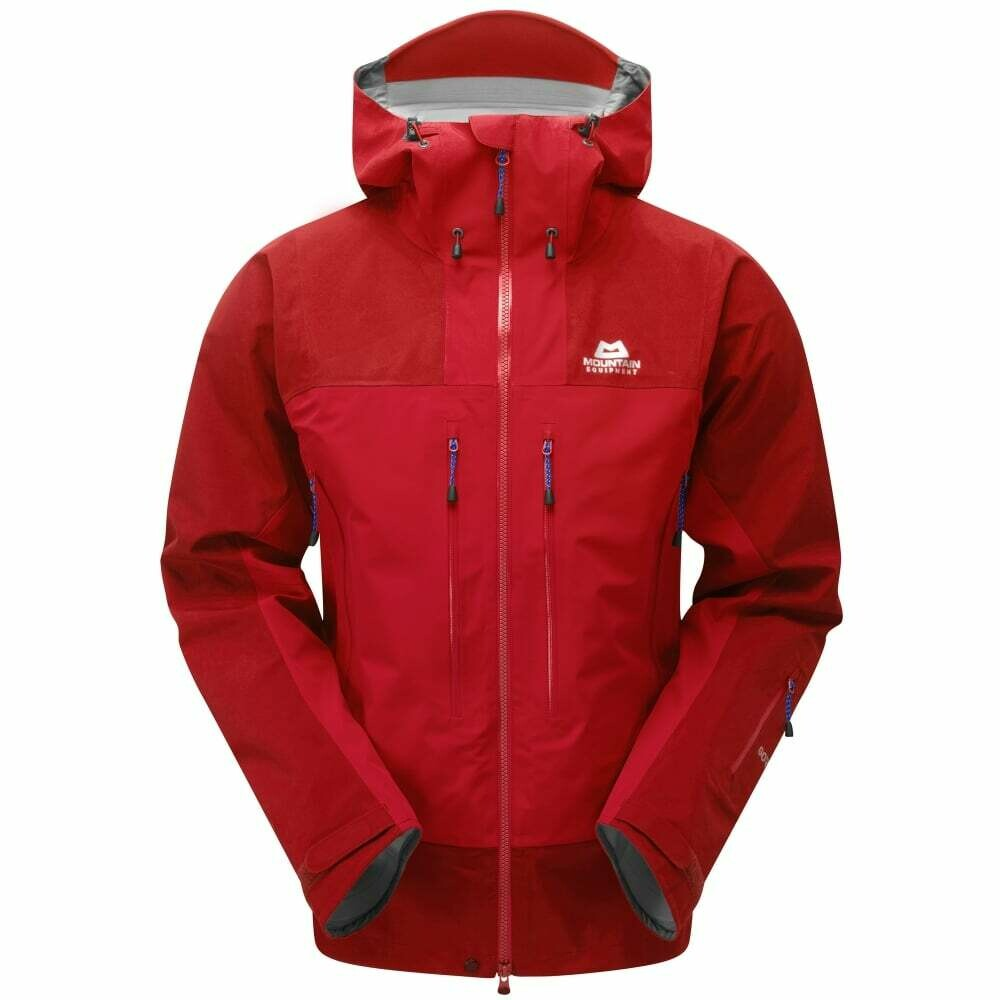 MOUNTAIN EQUIPMENT KANGSHUNG GORETEX JACKET IMPERIAL RED LARGE