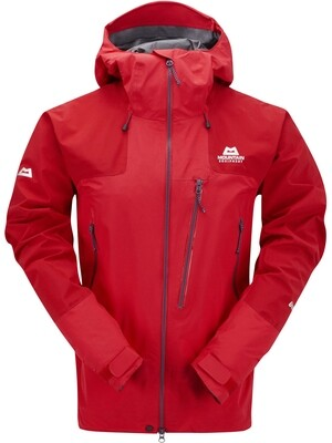 MOUNTAIN EQUIPMENT LHOTSE GORETEX JACKET IMPERIAL RED SMALL