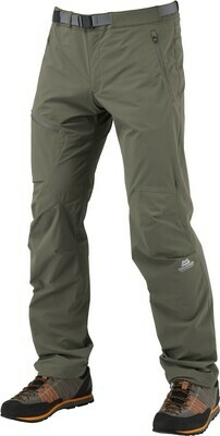 MOUNTAIN EQUIPMENT WOMENS COMICI PANT MUDSTONE  SHORT LEG