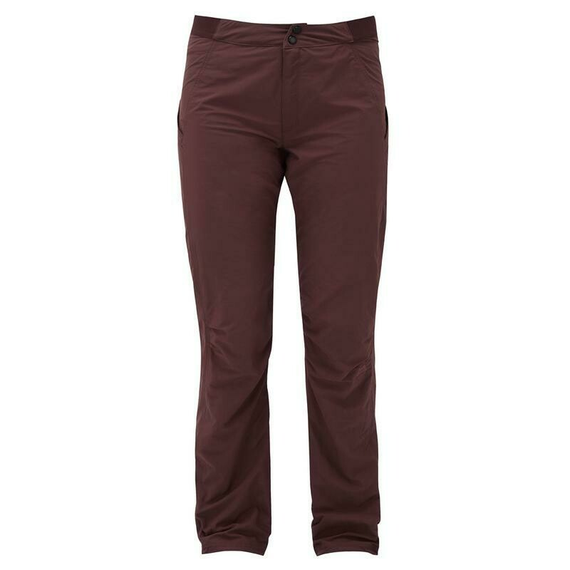 MOUNTAIN EQUIPMENT WOMENS INCEPTION PANT DARK CHOCOLATE LONG LEG