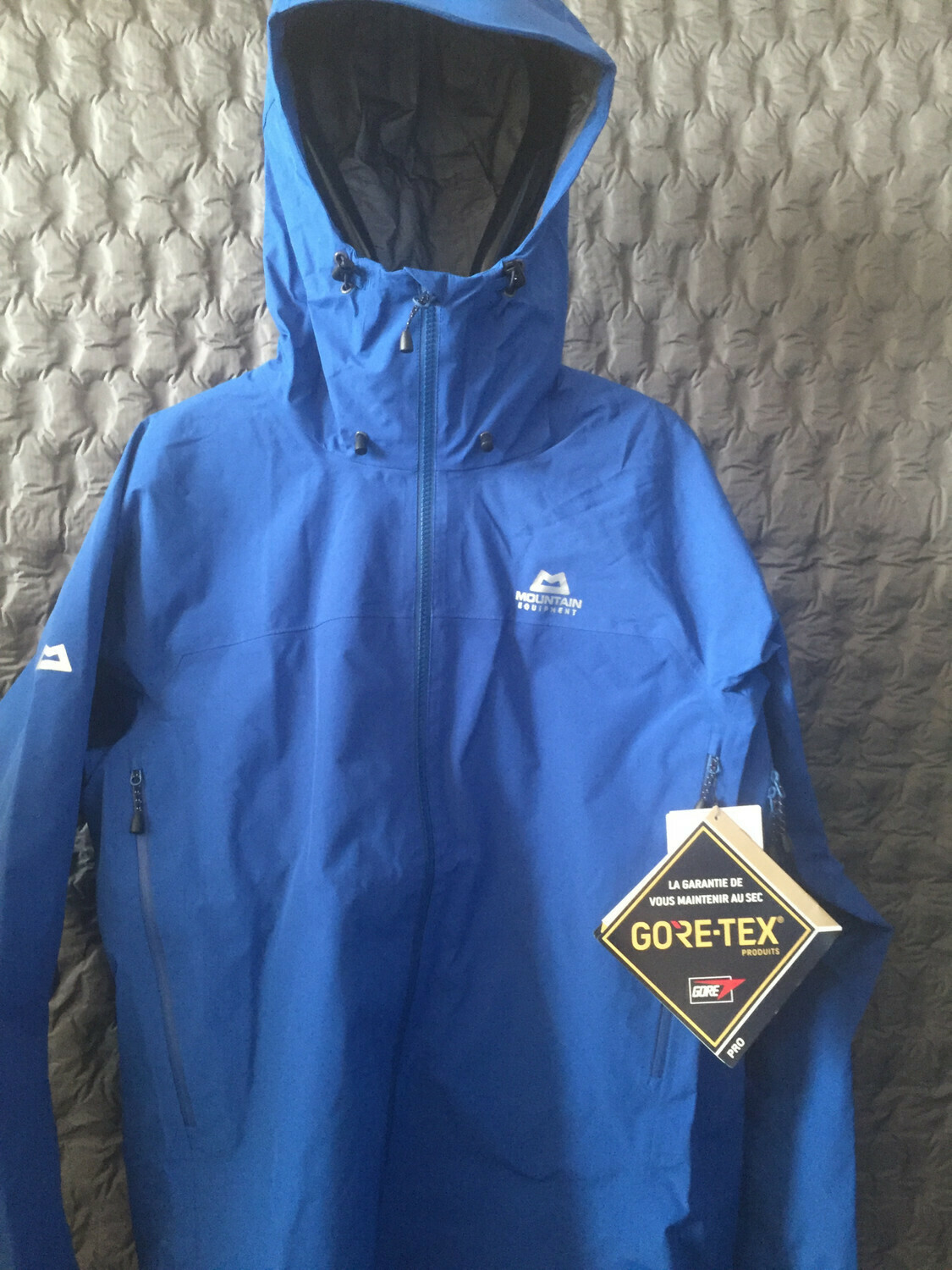 MOUNTAIN EQUIPMENT SHIVLING GORETEX JACKET DARK OCEAN MEDIUM