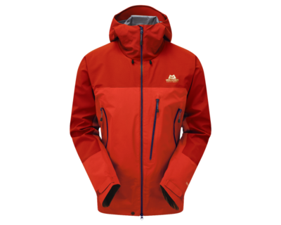 MOUNTAIN EQUIPMENT LHOTSE GORETEX JACKET IMPERIAL RED LARGE