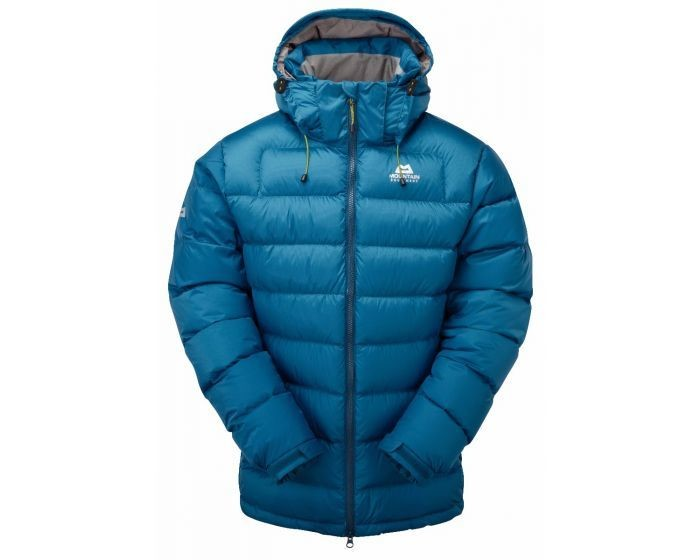 MOUNTAIN EQUIPMENT LIGHTLINE DOWN JACKET LAGOON BLUE LARGE SECOND