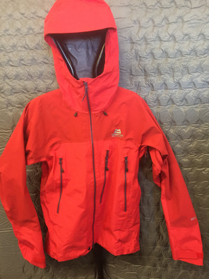 MOUNTAIN EQUIPMENT LHOTSE GORETEX PRO JACKET RED SMALL SECOND