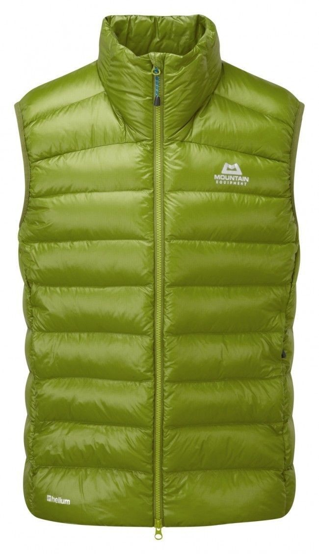 MOUNTAIN EQUIPMENT DEWLINE DOWN VEST KIWI LARGE NEW