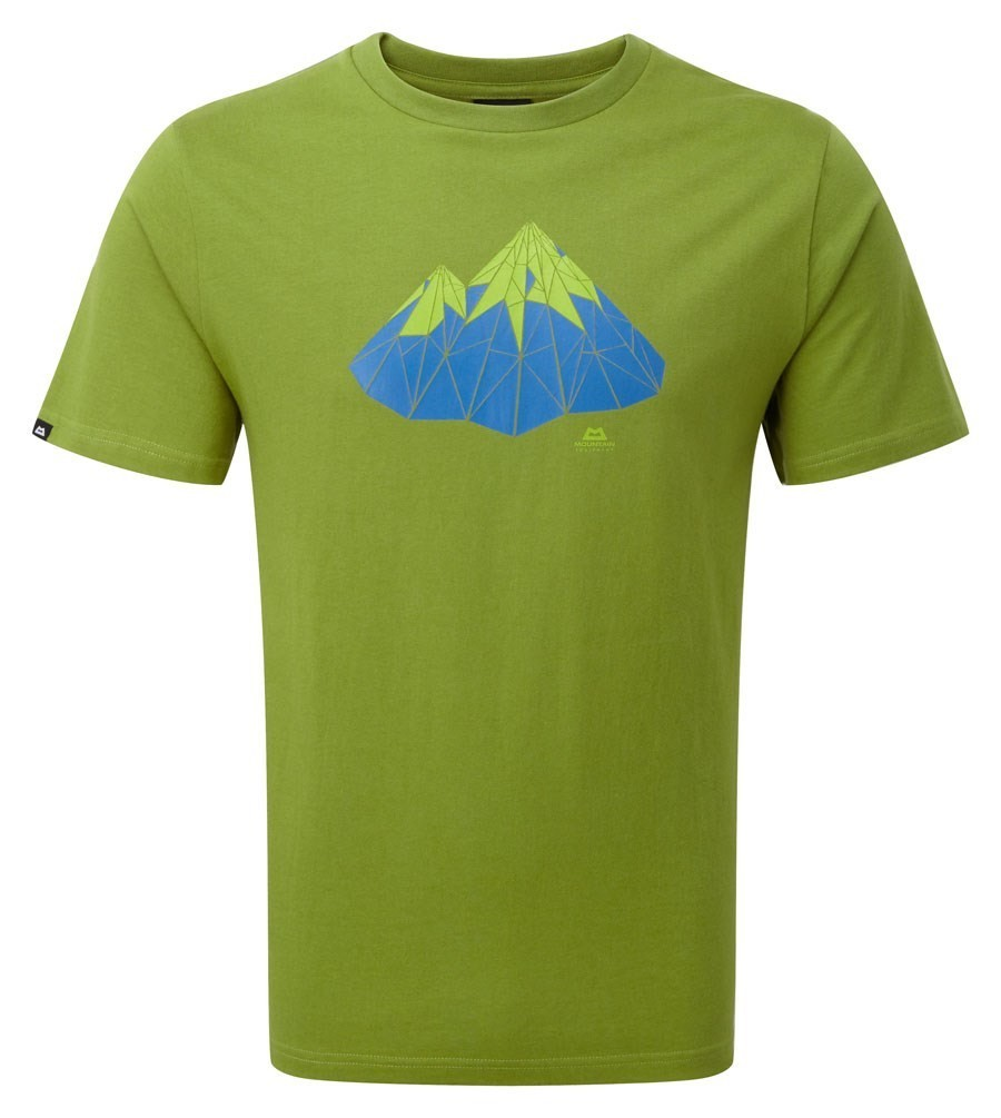 MOUNTAIN EQUIPMENT POLYGON TEE KIWI LARGE NEW