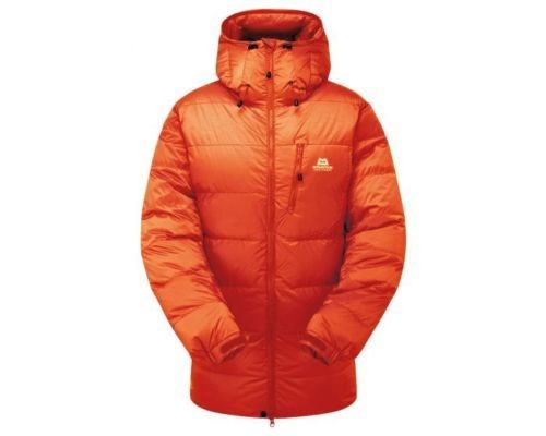 MOUNTAIN EQUIPMENT WOMEN'S K7 EXTREME DOWN JACKET CARDINAL ORANGE 12 NEW