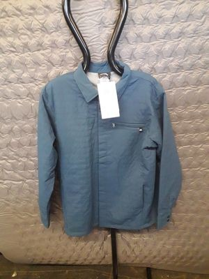 MOUNTAIN EQUIPMENT NOROYA OVERSHIRT LEGION BLUE LARGE NEW