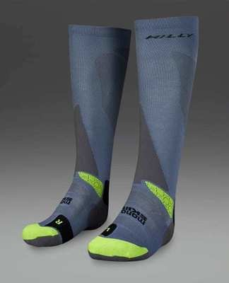 HILLY PEAK OFF ROAD COMPRESSION SOCK MEDIUM 6-8.5