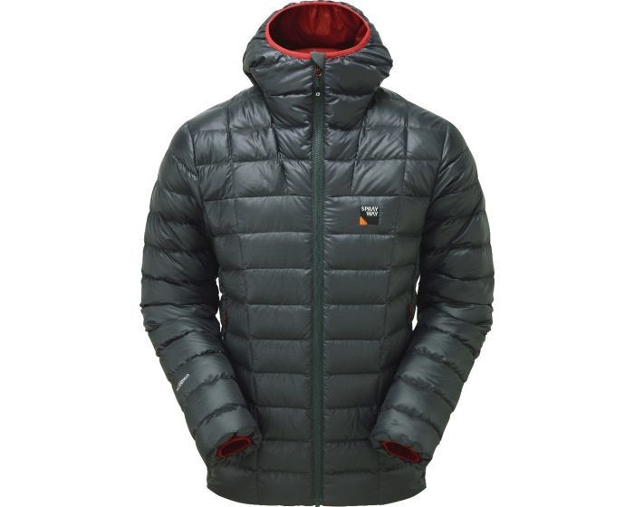 SPRAYWAY MYLAS DOWN JACKET SLATE SMALL