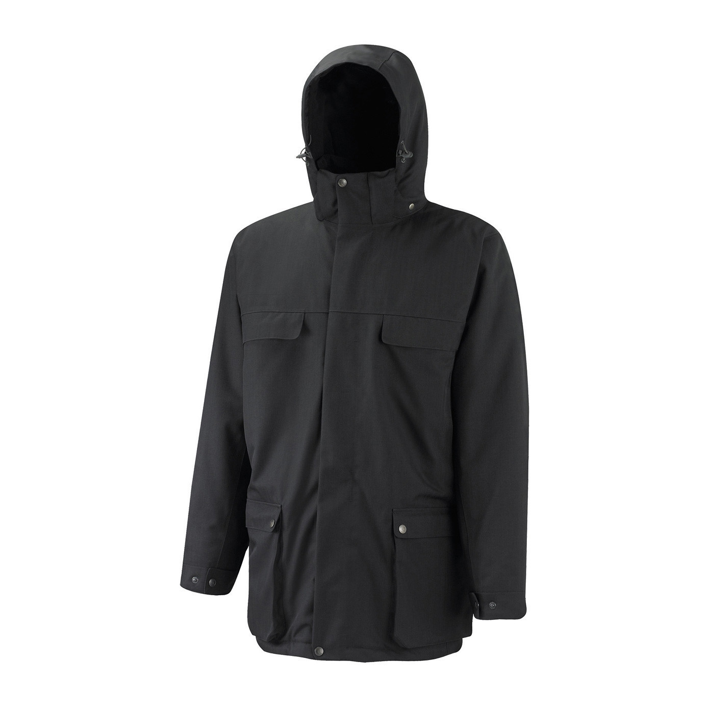 SPRAYWAU QUORUM GORETEX INSULATED JACKET BLACK MEDIUM