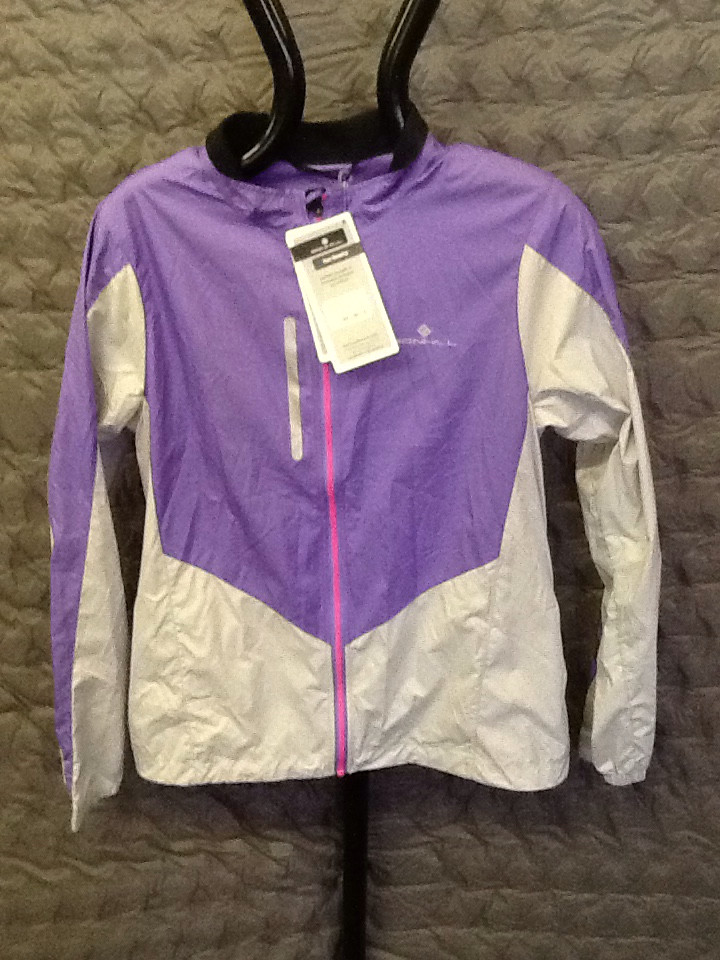 RONHILL WOMEN'S WINDLITE jacket 12 LILAC