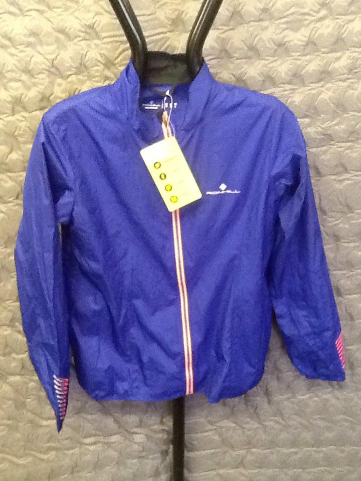 RONHILL WOMEN'S stride WINDSPEED jacket dark sapphire 10
