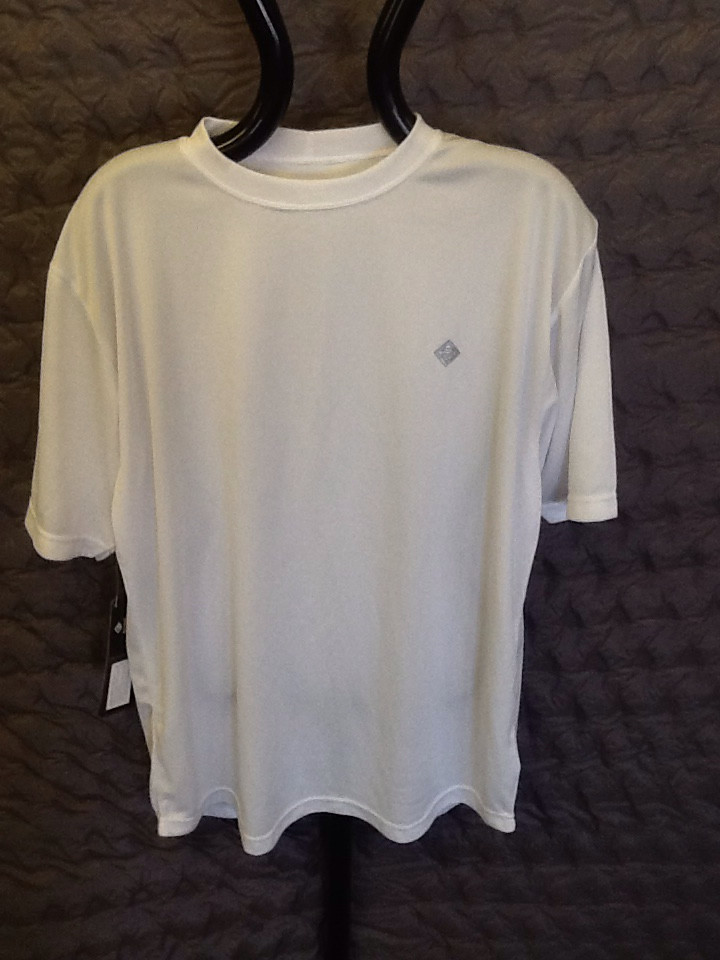 RONHILL MARATHON S/S T-shirt White large