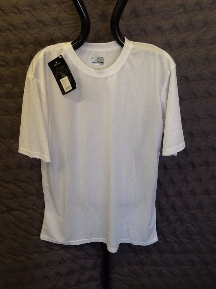 RONHILL PURSUIT PLAIN TEE WHITE X-large