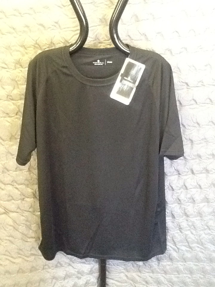 RONHILL PURSUIT PLAIN TEE BLACK XX-large