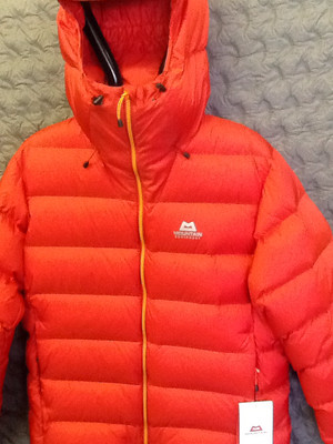 MOUNTAIN EQUIPMENT VEGA DOWN JACKET MINIUM LARGE