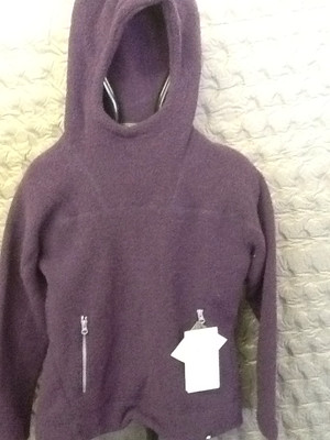 MOUNTAIN EQUIPMENT OATMEAL HOODED CREW TOP NIGHTSHADE 12