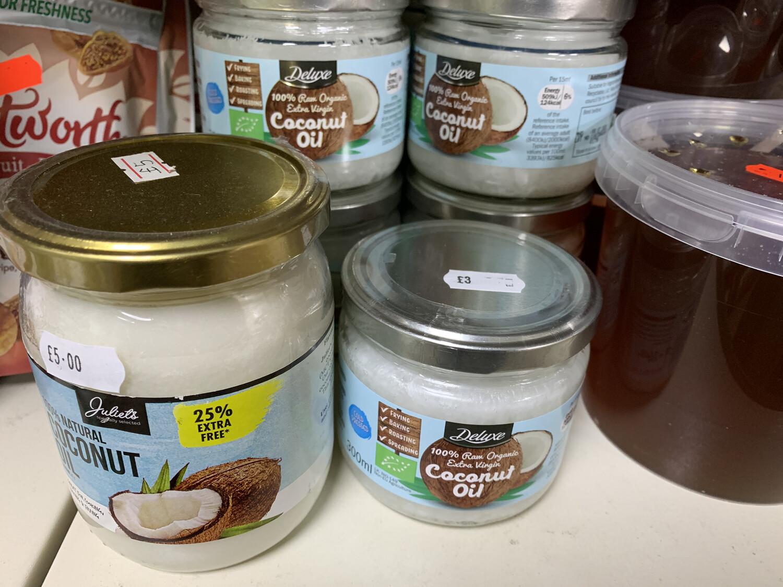 Raw Organic Extra Virgin Coconut Oil 300Ml